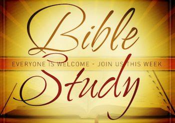 Wednesday Evening Bible Studies